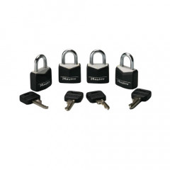 Set of 4  3.75 Master Locks
