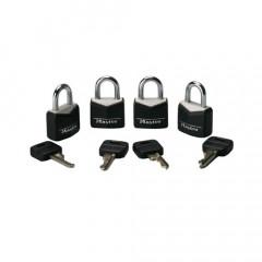 Set of 4  3.75 Master Locks