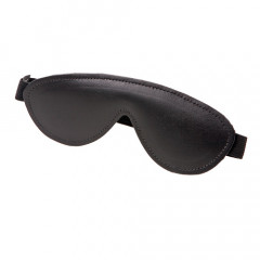 Low cost leather blindfold for beginners.