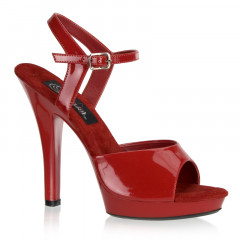 These highly versatile red stiletto high heels are great for sexing up any outfit.