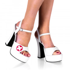 Sexy hIgh heels with a touch of medical fetish.