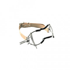 Whitehead Gag with Teeth Guard - Tan Straps