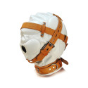White & Tan Ultimate Sensory Deprivation Hood