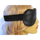 Leather Fleece lined Blindfold