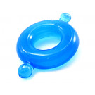 Blue Silicone Cock Ring