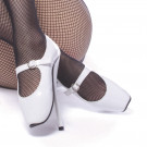 Sweet and sexy these Mary Jane Ballet Shoes are sensual and extremely fun to wear.