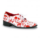 These bloody shoes for men are simply awesome for Halloween costumes, fetish parties and medical fetish outfits.
