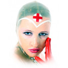Create the Rubber Nurse of your dreams with this Latex Nurse Hood
