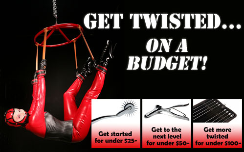 Fetish and Bondage Gear for less!